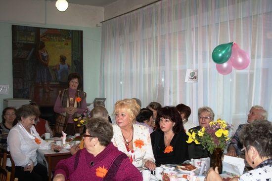 Встреча членов клуба ветеранов педагогического труда «Большая перемена» с ивановскими педагогами-ветеранами