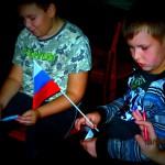 Слайд-беседа «Триколор России милой»