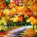 «Осень постучалась в окошко»