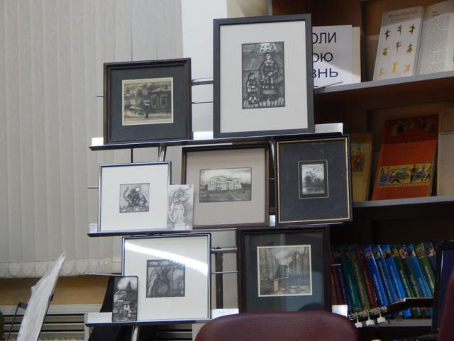 Выставка работ Ю. Стрижовой