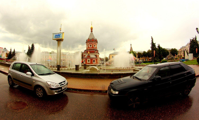 6. У часовни Александра Невского. Фото Давыдова.
