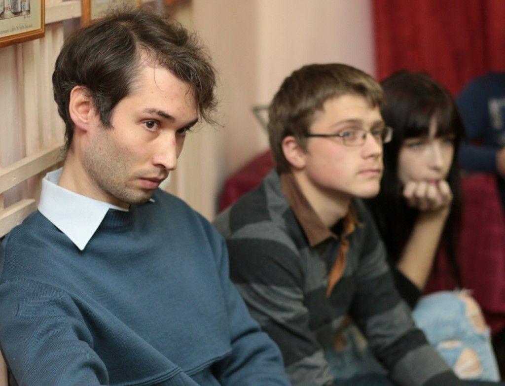 Иван Коновалов в юношеской библиотеке имени Н. А. Некрасова
