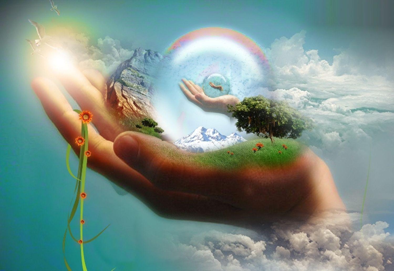да будет свет и мир картинка