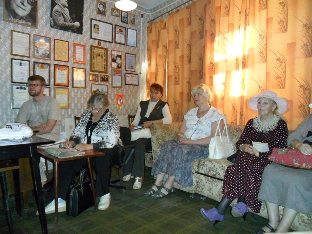 Вечер памяти поэта Павла Голосова