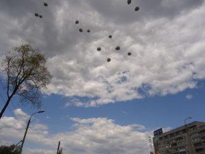 В небе шары