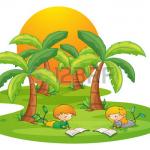 Литературный праздник «Приключения на острове Чтения!»