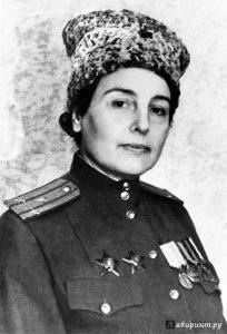 Полковник Зоя Воскресенская