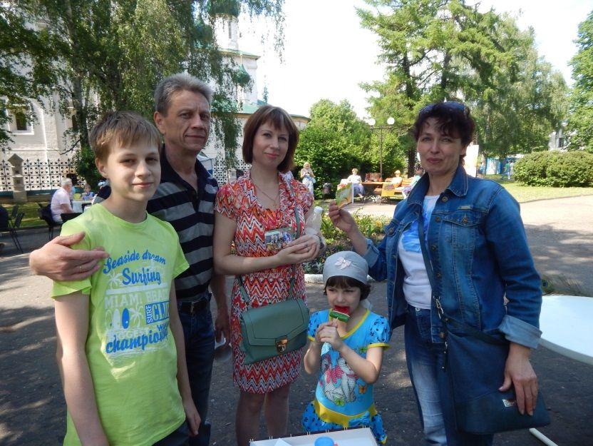 Библиотека №19 на празднике Ярославля