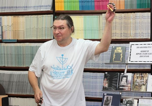 В Ярославле выступил поэт Андрей Коровин