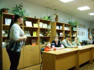 Встреча в клубе детей и родителей «Любознайка»