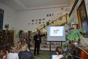 Встреча с Уполномоченным по правам ребёнка в Ярославской области Михаилом Львовичем Крупиным