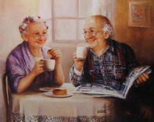 праздник «Озорные посиделки», посвященный дню пожилого человека