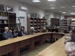Творческий вечер поэта и барда Валерия Владимировича Белозёрова