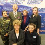 Выступление на Ярославском областном радио в День милиции