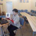 Телемост с библиотекой города Серов