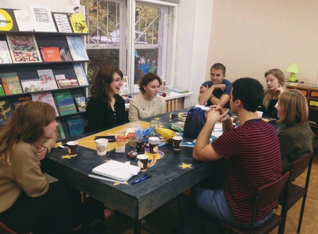 Новогодняя встреча в молодёжном English Club