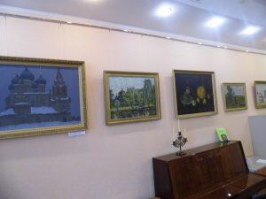 Открытие художественной выставки А.В. Ульянова