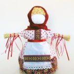 Мастер-класс «Куколка Масленичка»