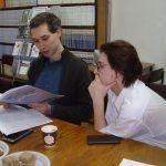 Встреча с поэтами Иваном Коноваловым и Дарьей Христовской в литстудии «Парабола»