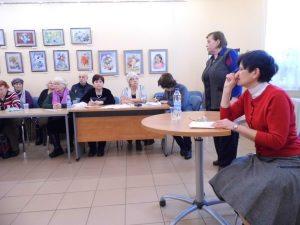 Встреча со специалистом Пенсионного фонда РФ «Новое в пенсионном законодательстве»