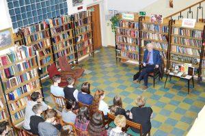 Творческая встреча с писателем Альфредом Симоновым