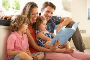 Литературный досуг «Любимые книги нашей семьи»