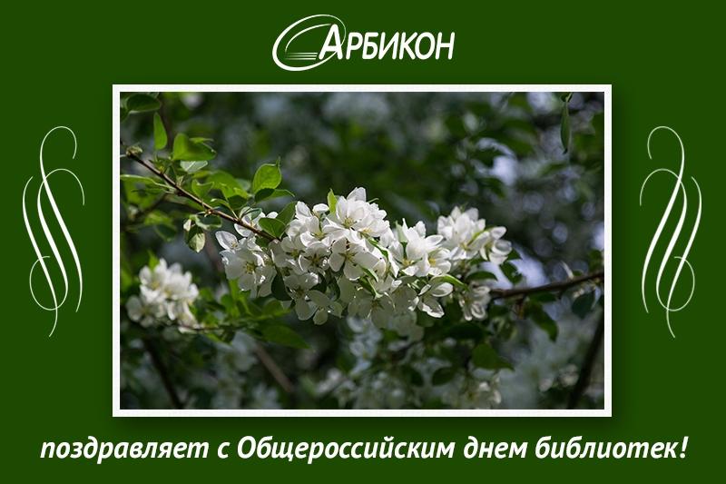 Поздравление с Общероссийским Днём библиотек!