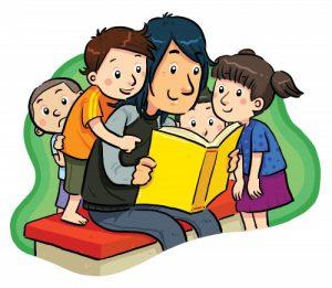 Литературный час «Веселые семейки»