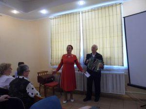Праздничная встреча ветеранов «А песни тоже воевали»