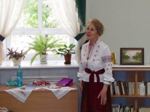 Творческий вечер поэтессы Валентины Жоховой (Кучмий)