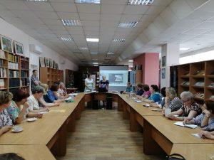 Встреча с коллегами из Великих Лук в Лермонтовке