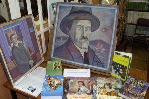 Выставка одной картины художника Германа Блинова «Портрет Александра Грина»