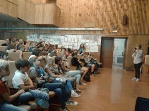 Интерактивные мероприятия в детских санаториях «Искра» и «Сосновый бор»
