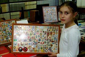 Открытие выставки значков «Фалеристика... Это интересно!»
