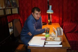 Мастер-класс писателя АЛЕКСАНДРА ЕВСЮКОВА (Москва)
