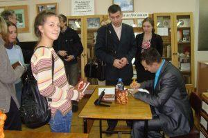 Творческий вечер писателя Александра Евсюкова (Москва)