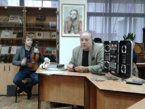 Творческая встреча с писателем Александром Антошиным, членом Союза писателей Москвы