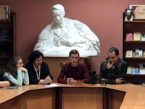 Творческая встреча с И. Варанкиным и А. Кузьминым «Лёд тронулся, господа присяжные заседатели!»