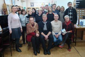 Творческий вечер писателя Игоря Михайлова (Москва)