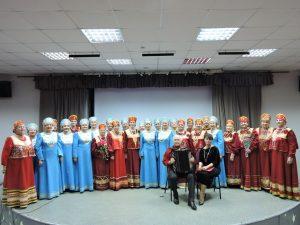 Праздничная концертная программа «Снег кружится…»