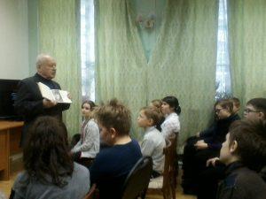 Вечер-воспоминание «Мы знаем и помним» с подполковником в отставке А. В. Щукиным