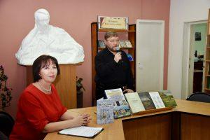 Дмитрий Ермаков в гостях у читателей Лермонтовки