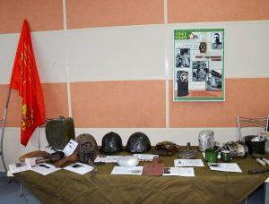 Вахта памяти в библиотеке Чехова