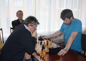 Игровая встреча шахматного клуба «Четыре коня»