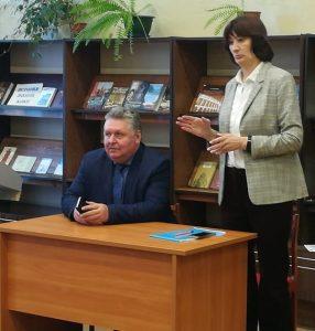 Встреча с Андреем Дмитриевичем Удальцовым