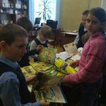 Отчёт о мероприятиях за апрель Библиотеки-филиала № 16 имени А. С. Пушкина