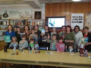 События Библиотеки-филиала №13 имени Ф.М.Достоевского за апрель