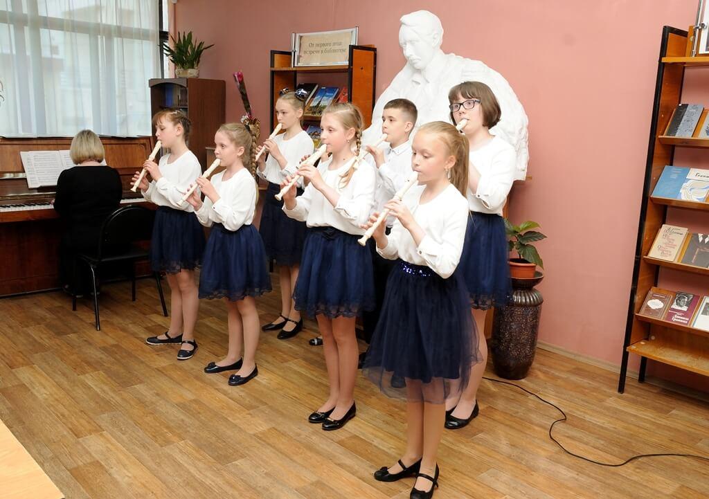 «Музыка. Поэзия. Дети», беседа-концерт