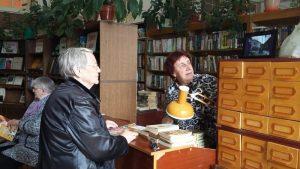 События Библиотеки-филиала №16 имени А.С.Пушкина замай