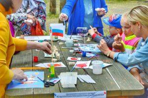 День России на Даманском острове